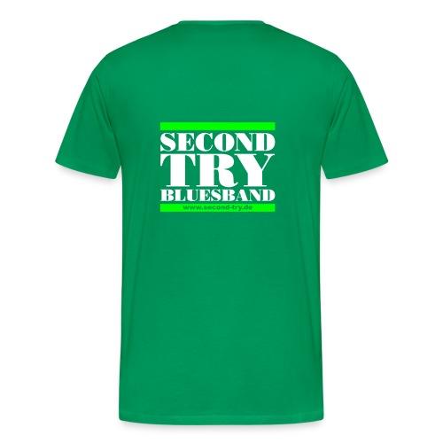 noch ein zweiter versuch - Männer Premium T-Shirt