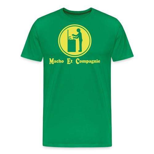 Macho Et Compagnie à la vaisselle - T-shirt Premium Homme