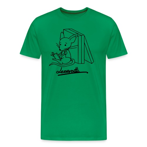 Leseratte - Männer Premium T-Shirt