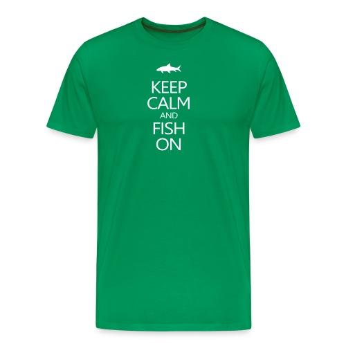 keepcalm2b - Men's Premium T-Shirt
