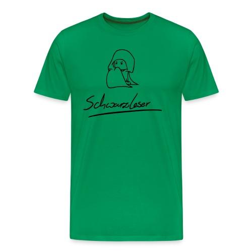 Schwarzleser - Männer Premium T-Shirt