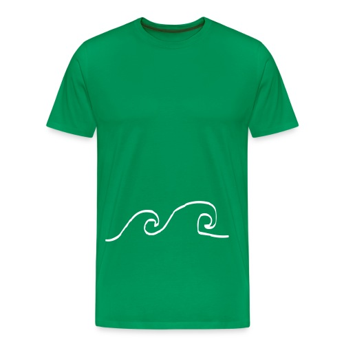 Waves - Mannen Premium T-shirt