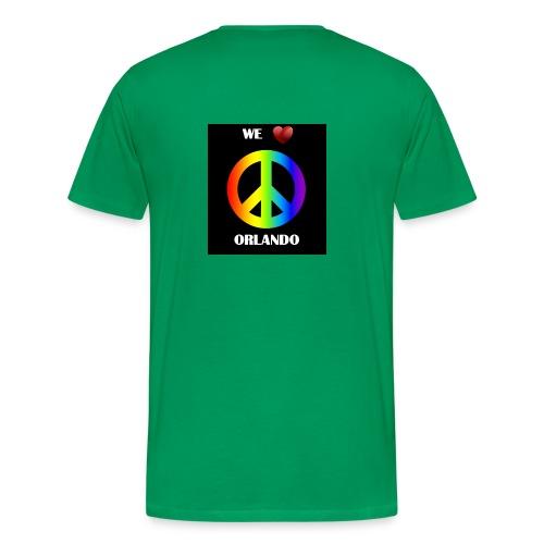 ORLANDO PEACE BLACK - Men's Premium T-Shirt