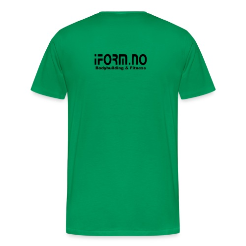 iform no - Premium T-skjorte for menn