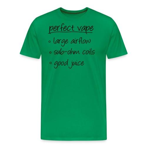 TShirt perfectvape 1 png - T-shirt Premium Homme