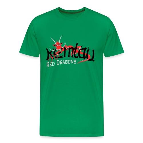 kemtaulogoreddragonrb 005transp - Männer Premium T-Shirt