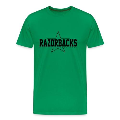 Razorbacks étoile gif - T-shirt Premium Homme