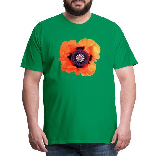 TIAN GREEN - Mohnblüte 2020 01 - Männer Premium T-Shirt