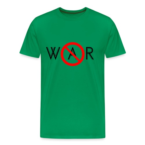 TIAN GREEN - No War - Männer Premium T-Shirt
