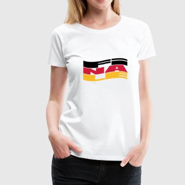 Finale Welle - Frauen Premium T-Shirt