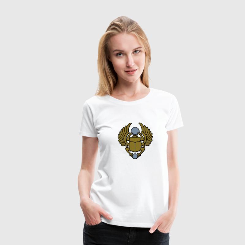 Skarabeusz - Koszulka damska Premium