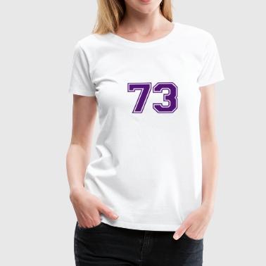 73 - Camiseta premium mujer