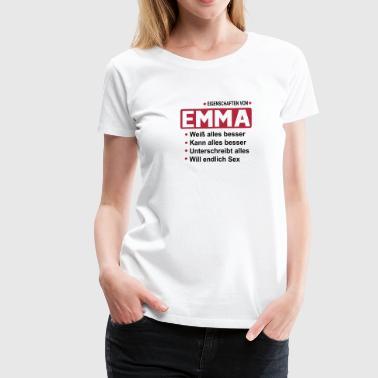 emma - Frauen Premium T-Shirt