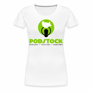 podstock full green - Frauen Premium T-Shirt