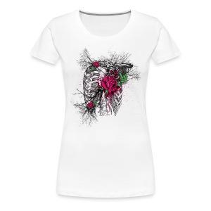 Rose Chest - Frauen Premium T-Shirt