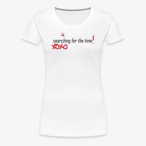 searching for the XOXO - Frauen Premium T-Shirt