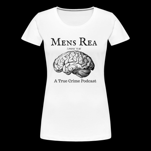 Guilty Mind Mens rea Logo - Women's Premium T-Shirt