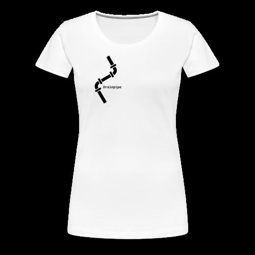 Drainpipe Logo - Women's Premium T-Shirt