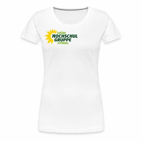 GHG Stendal Logo bunt - Frauen Premium T-Shirt
