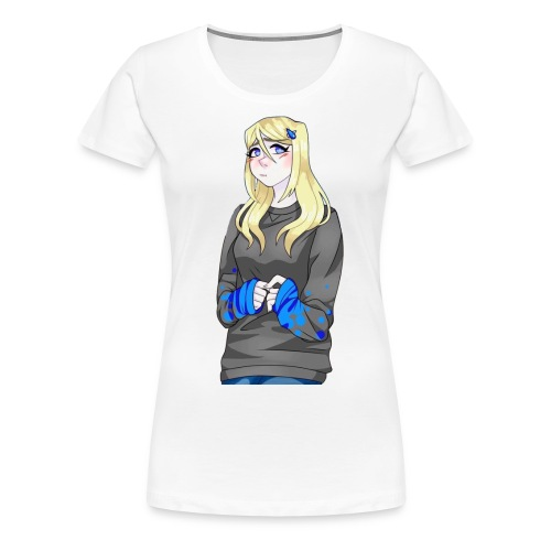 Sad-chan v2 - Women's Premium T-Shirt