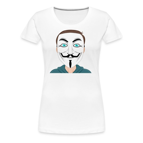 Anonymous Me Cartoon - Women's Premium T-Shirt