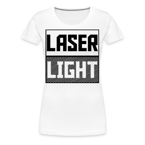 laser light design - Women's Premium T-Shirt