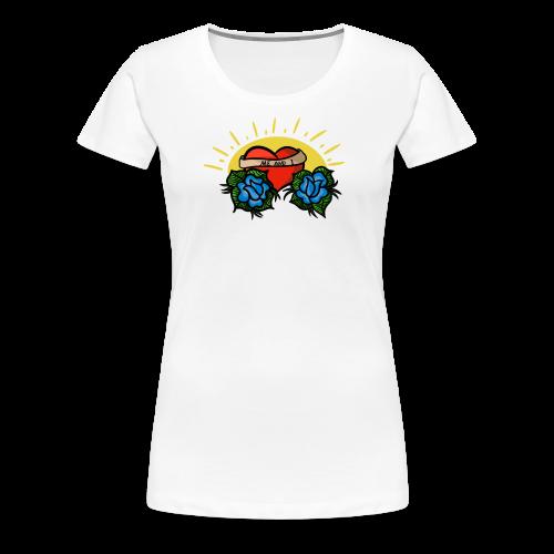 me and i - Premium-T-shirt dam