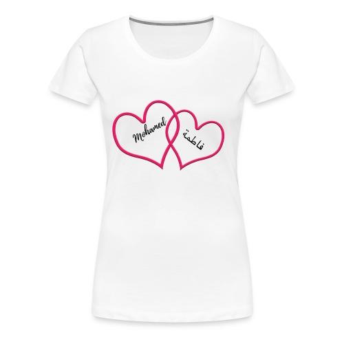 Mohamed et Fatima - T-shirt Premium Femme