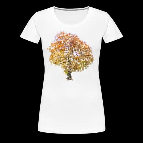 Tree Of Life - Frauen Premium T-Shirt