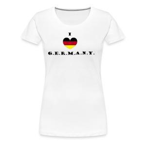 i love germany - Frauen Premium T-Shirt