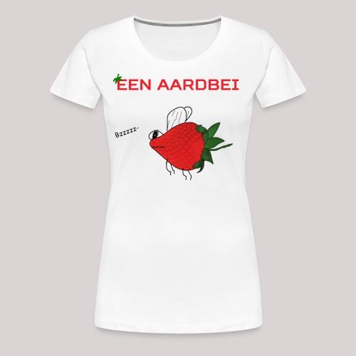 Een aardbei - Vrouwen Premium T-shirt