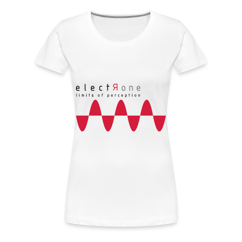 Limits of Perception – Electrone - Frauen Premium T-Shirt