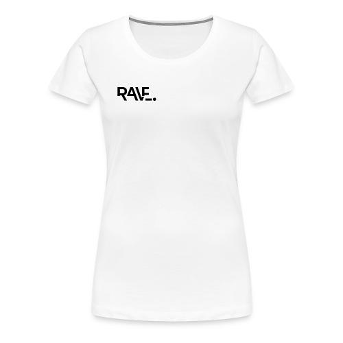 RAVE ClothingBlackLogo - Women's Premium T-Shirt