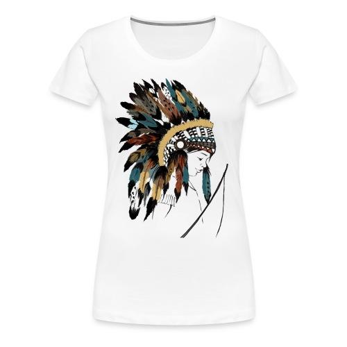 indian boy - T-shirt Premium Femme