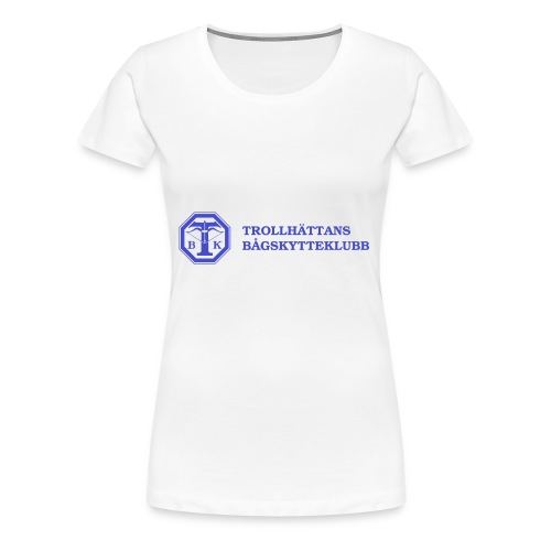 Piké Herr Slim - Tävlingströja med ryggtryck - Premium-T-shirt dam