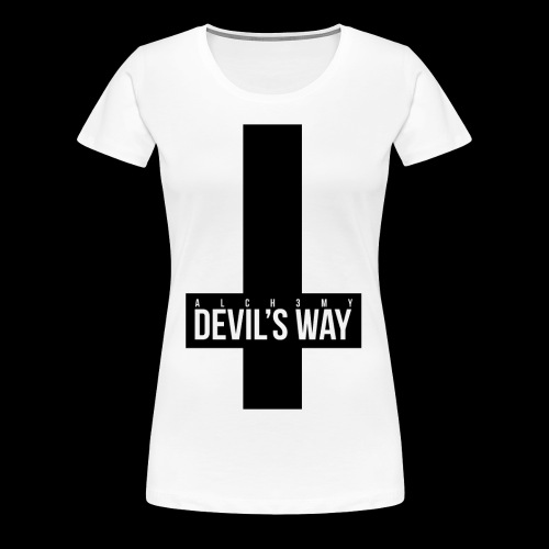 ALCH3MY Devil's Way T shirt - T-shirt Premium Femme