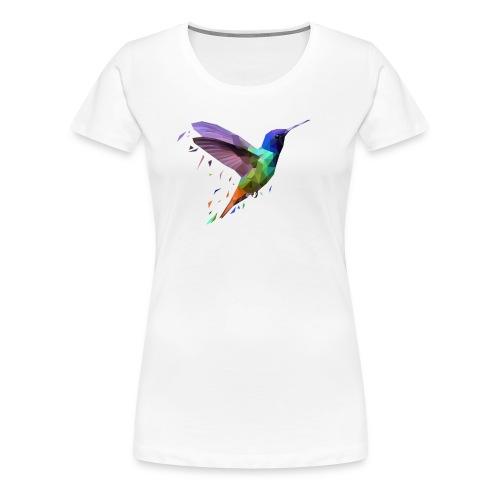 Polybird Pixels - Premium T-skjorte for kvinner