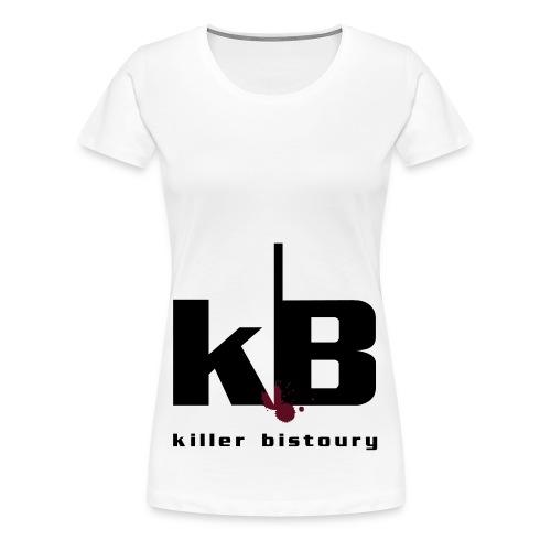 killer bistoury white - Maglietta Premium da donna
