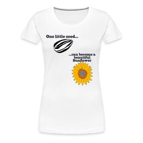 One little seed - Women's Premium T-Shirt