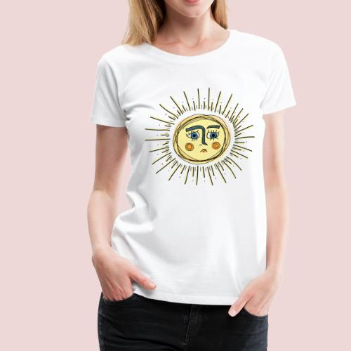 Sad Sun - Frauen Premium T-Shirt