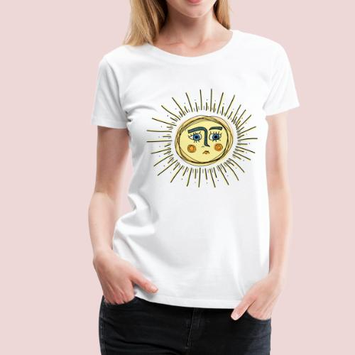 Sad Sun - Frauen Premium T-Shirt