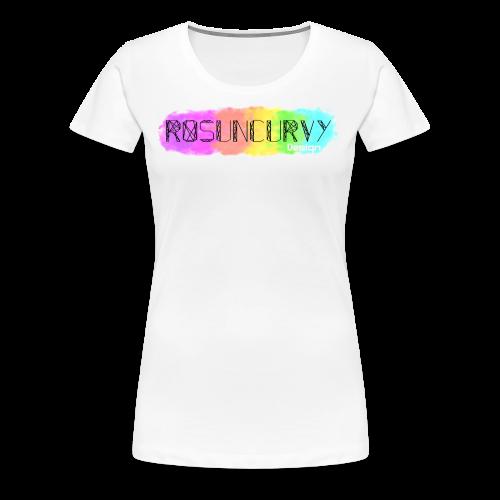 Logo Rosuncurvy - T-shirt Premium Femme