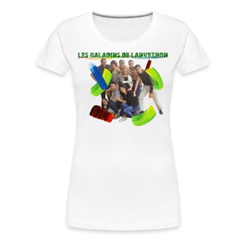 LLT18 - T-shirt Premium Femme
