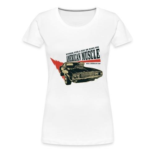 American Muscle Car 2 - Frauen Premium T-Shirt