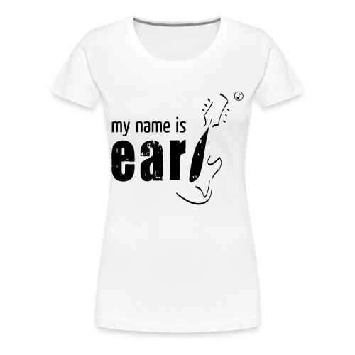 Logo my name is earl - Frauen Premium T-Shirt
