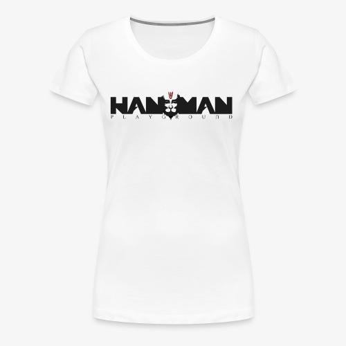 LOGO HANUMAN PLAYGROUND - T-shirt Premium Femme