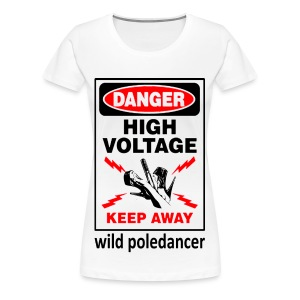 wild_poledancer1 - Frauen Premium T-Shirt
