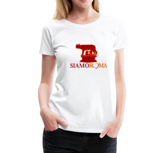 siamo roma 2 - Maglietta Premium da donna