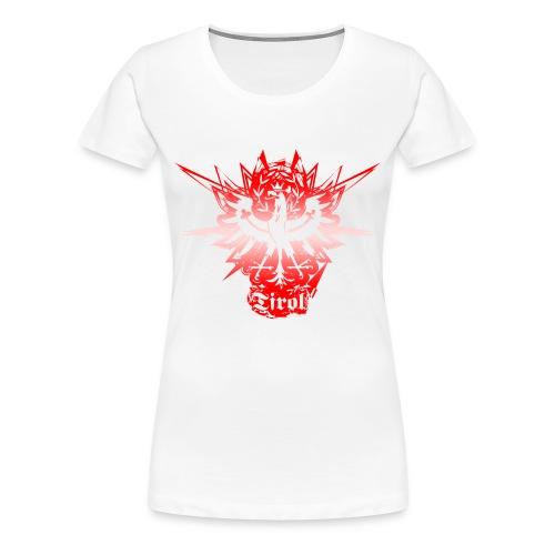 Tiroler Adler abstakt - Frauen Premium T-Shirt