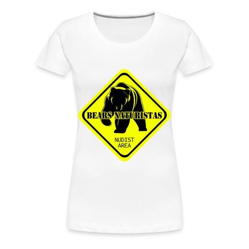 bears naturistas - Camiseta premium mujer